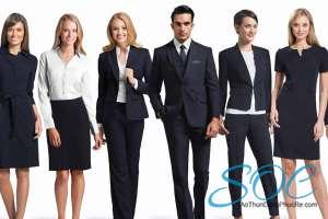 Áo đồng phục công ty đẹp