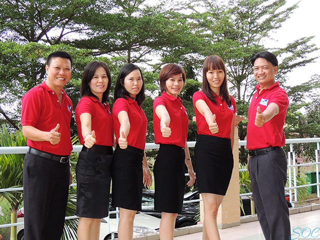 Công ty chuyên may áo thun đồng phục