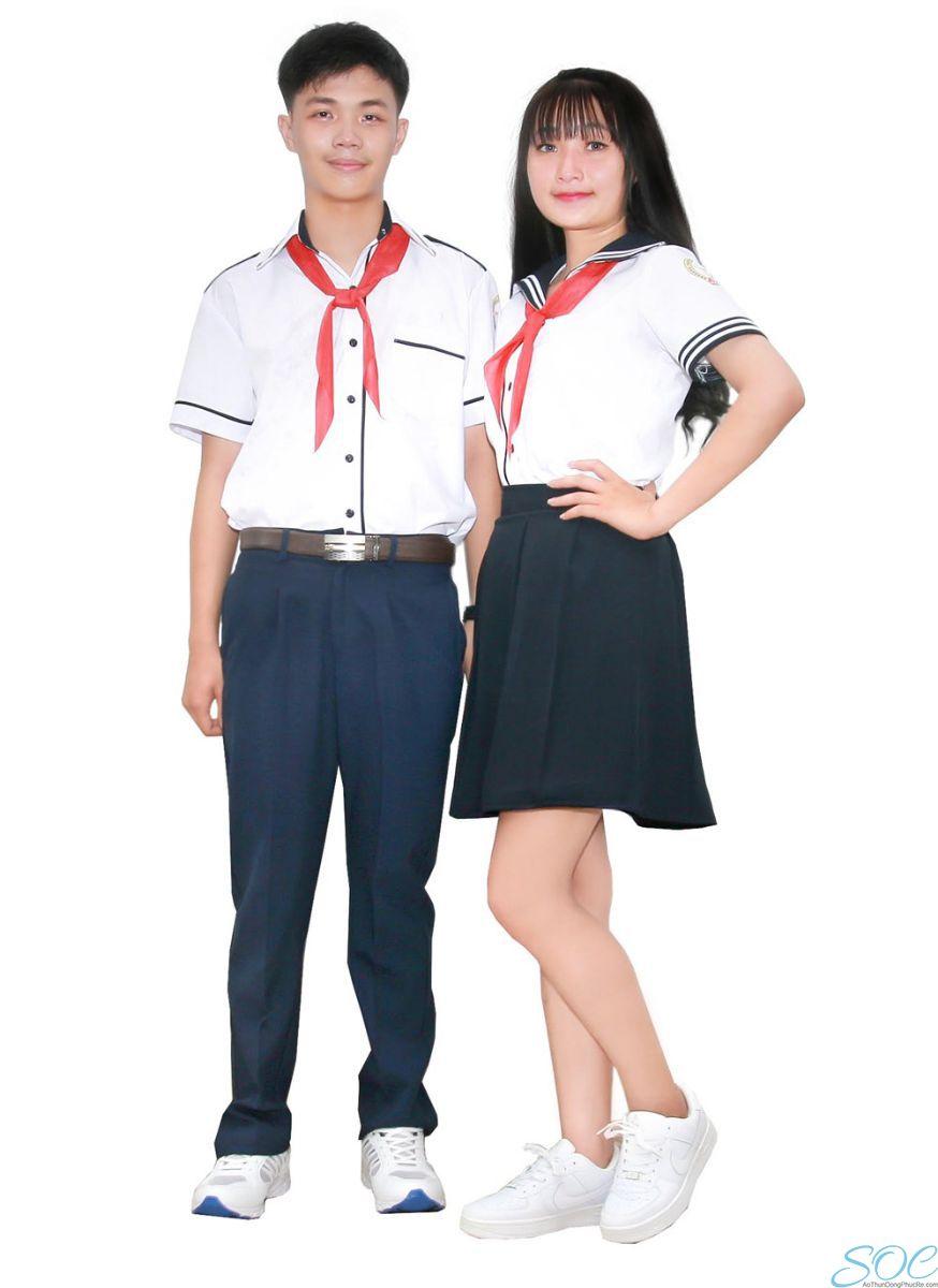 May áo sơ mi đồng phục lớp ở đâu đẹp?