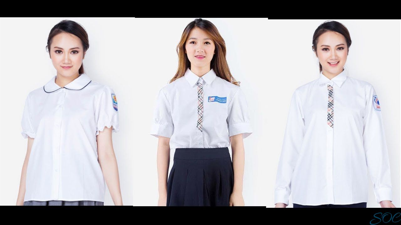 Tìm hiểu về áo sơ mi đồng phục lớp
