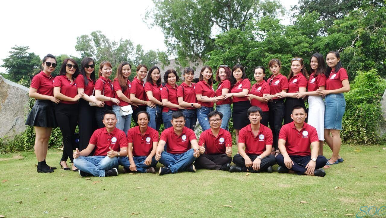 May áo thun đồng phục cổ trụ giá rẻ tại quận Bình Tân