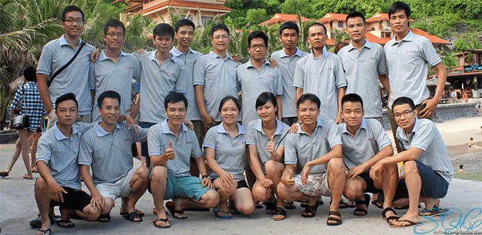 May áo thun đồng phục cổ trụ giá rẻ tại huyện Củ Chi