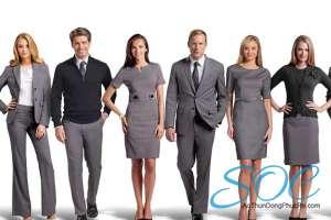 Những mẫu áo đồng phục công sở đẹp