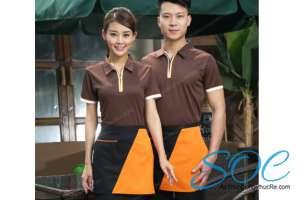 Những mẫu áo đồng phục nhà hàng ấn tượng