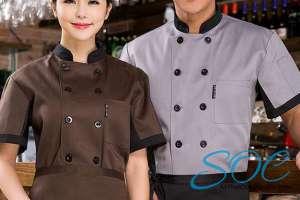 Những mẫu áo đồng phục đầu bếp đẹp