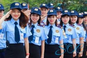 Xưởng may đồng phục bảo vệ đẹp