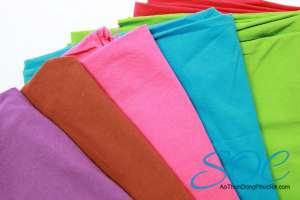 Các loại vải thường dùng để may áo thun đồng phục