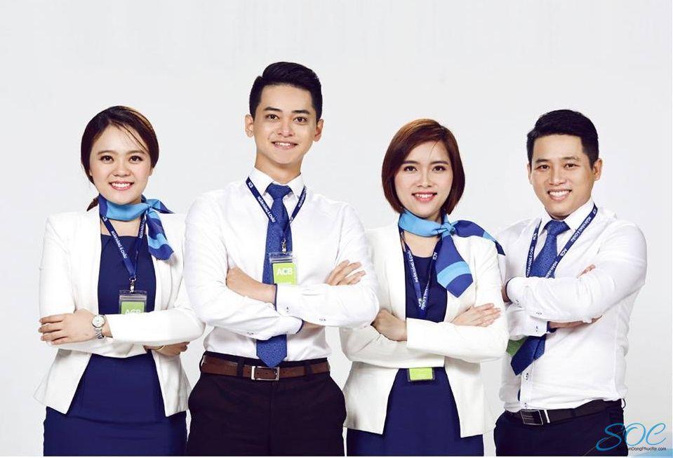 Đồng phục của ACB bank - Đồng Phục Thiên Phước