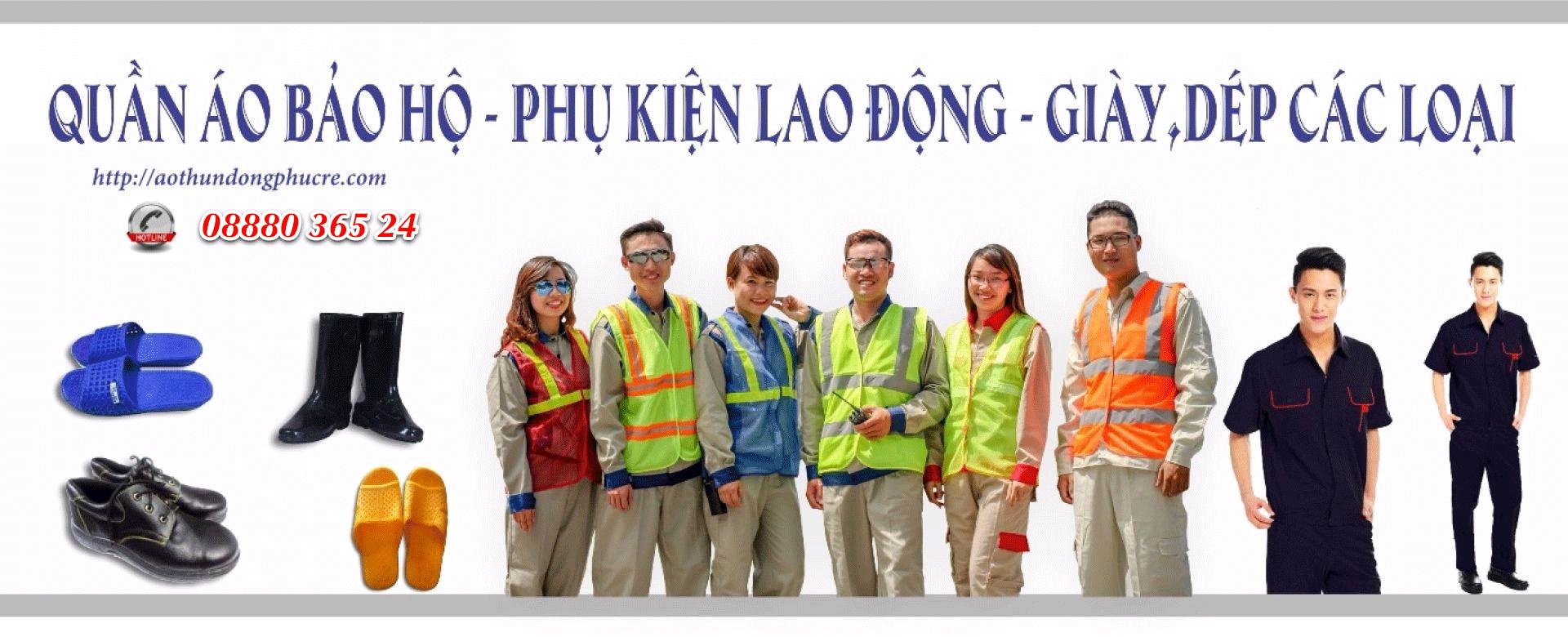 Banner đồng phục bảo hộ lao động